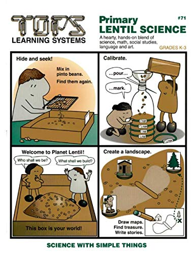 9780941008518: Primary Lentil Science (Science with Simple Things - GRADES K-3)