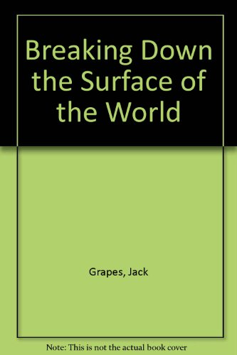 Breaking Down the Surface of the World