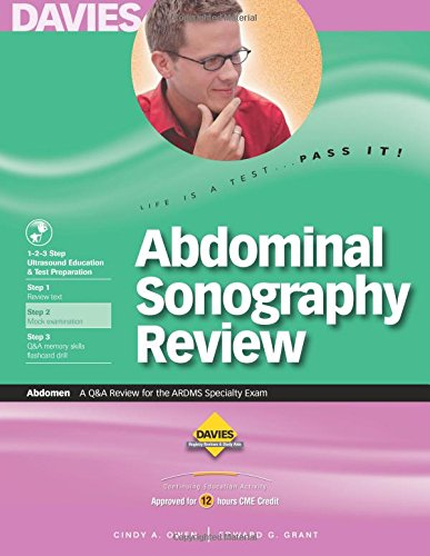 9780941022460: Abdominal Sonography Review: A Review for the ARDMS Abdomen Specialty Exam 2007 2008