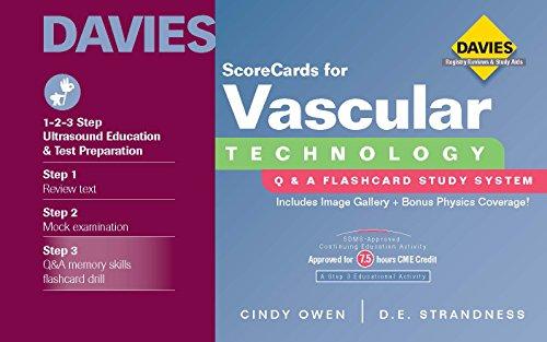 9780941022484: ScoreCards for Vascular Technology