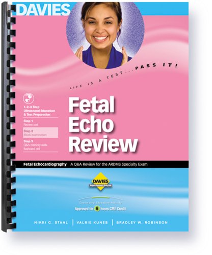 9780941022767: Fetal Echocardiography Review
