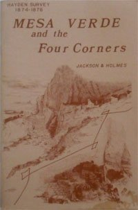9780941026079: Mesa Verde and the Four Corners: Hayden Survey, 1874-1876