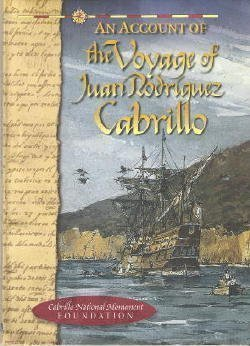 9780941032070: An Account of the Voyage of Juan Rodriguez Cabrillo