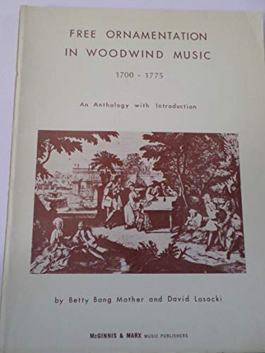 9780941084055: Free Ornamentation in Woodwind Music