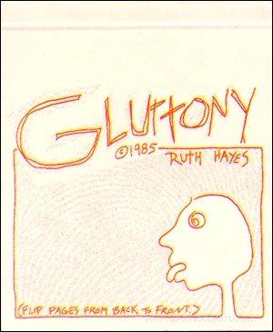9780941104364: Gluttony (Real Comet Flipbooks)