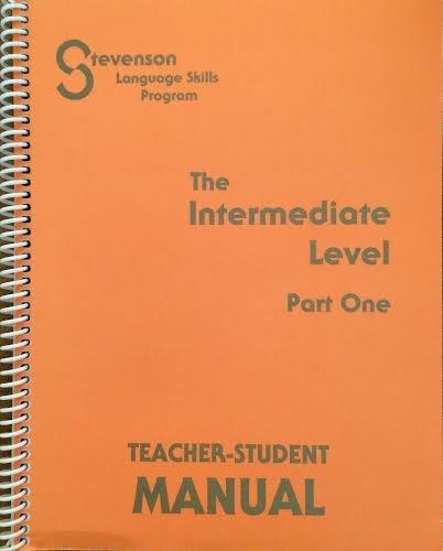 9780941112147: Part one of the intermediate level of the Stevenson language skills program: Teacher's manual