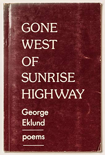9780941152037: Gone west of sunrise highway: Poems