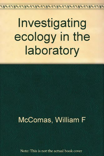 9780941212311: Investigating ecology in the laboratory