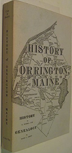 9780941216395: History of Orrington, Maine