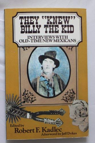 9780941270366: They Knew Billy the Kid