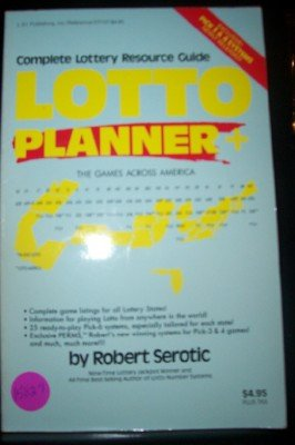 Lotto Planner: Serotic, Robert