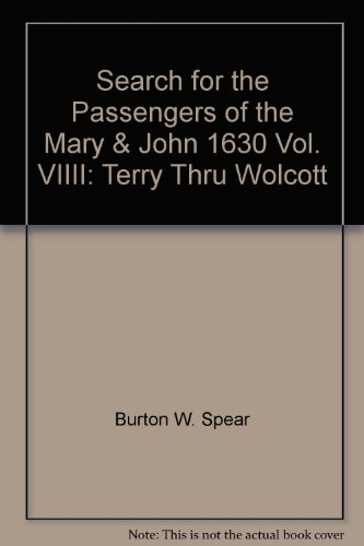 Search for the Passengers of the Mary