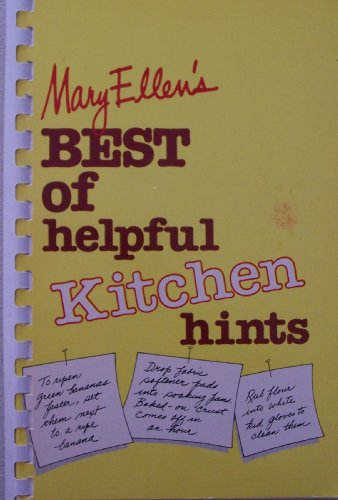 9780941298018: Mary Ellen's Best of Helpful Kitchen Hints