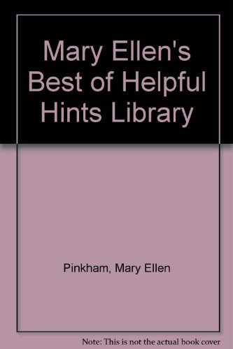 9780941298032: Mary Ellen's Best of Helpful Hints Library