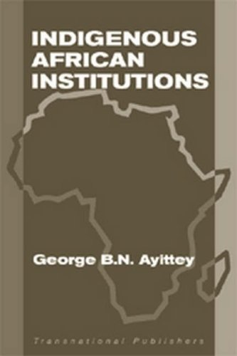 9780941320658: Indigenous African Institutions