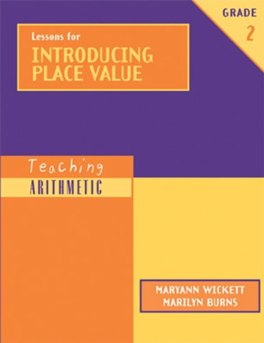 9780941355452: Lessons for Introducing Place Value, Grade 2 (Teaching Arithmetic)