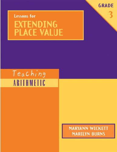9780941355575: Teaching Arithmetic: Lessons for Extending Place Value, Grade 3