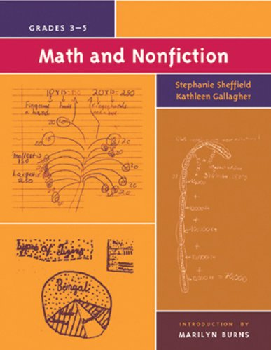 Math and Nonfiction, Grades 3-5: Stephanie Sheffield; Kathleen