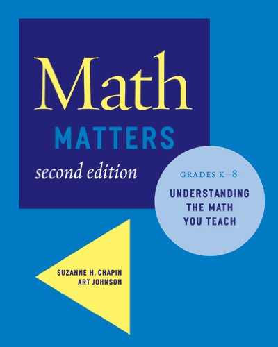 9780941355711: Math Matters: Understanding the Math You Teach, Grades K-8