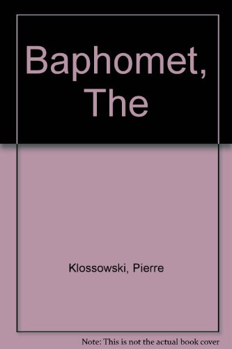 9780941419161: The Baphomet (The Eridanos Library, 9)