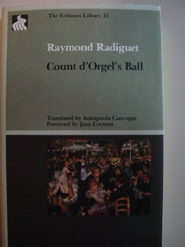 9780941419314: Count D'Orgel's Ball (The Eridanos Library, 15)