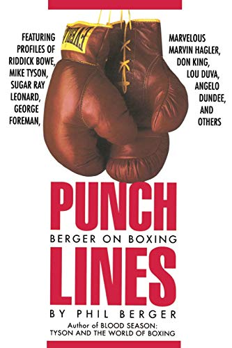 9780941423953: Punch Lines: Berger on Boxing