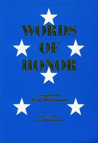 9780941437004: Words of honor