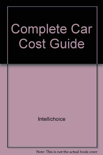 9780941443333: The Complete Car Cost Guide, 2002