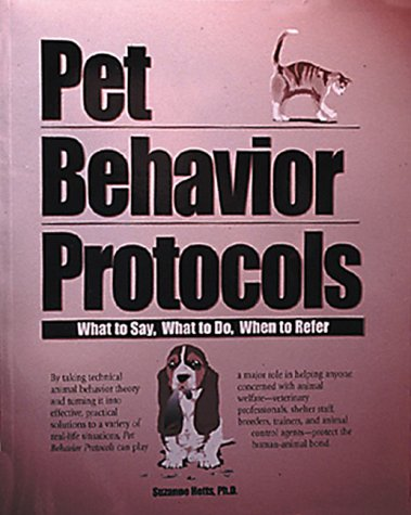9780941451741: Pet Behavior Protocols