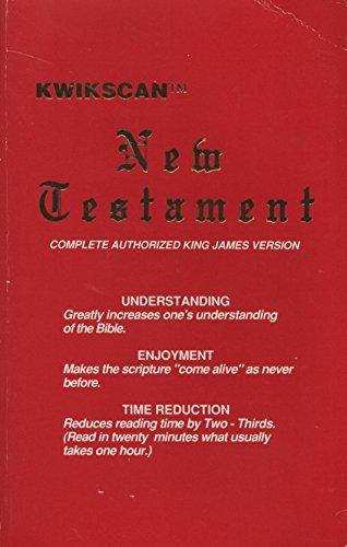 9780941485012: Kwikscan New Testament