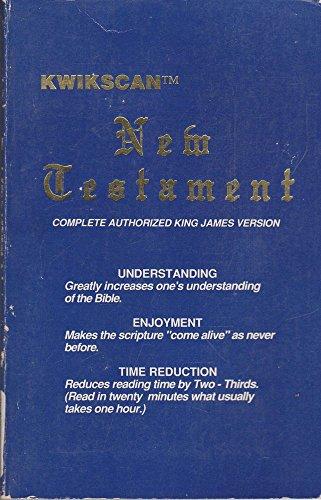 9780941485029: Kwikscan New Testament