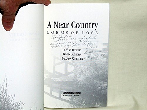 9780941490351: A near country: Poems of loss