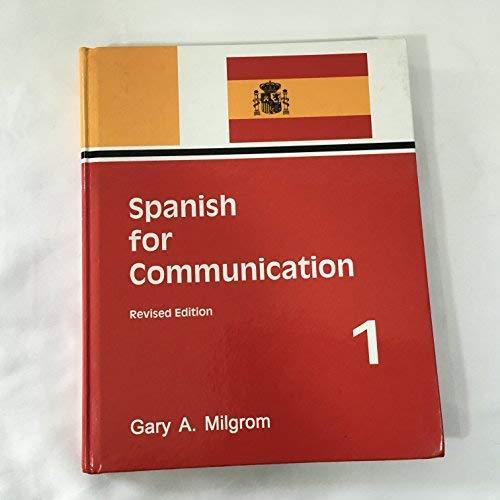 9780941519854: Spanish for Communication Level I (Spanish Edition)