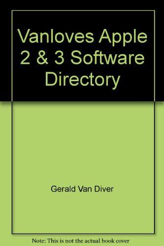 9780941520003: Vanloves Apple 2 & 3 Software Directory