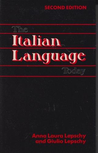 9780941533218: Italian Language Today