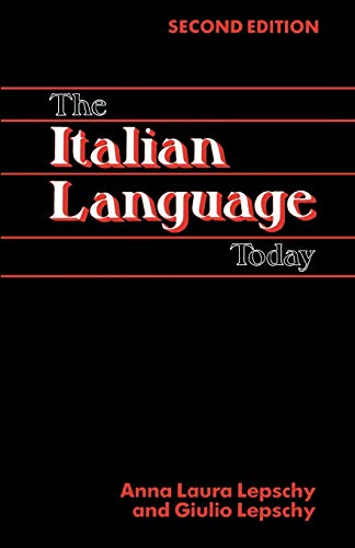 9780941533225: The Italian Language Today