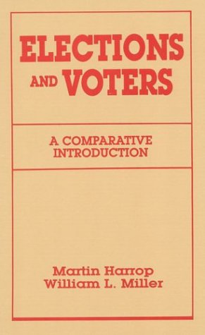 9780941533843: Elections and Voters: A Comparative Introduciton