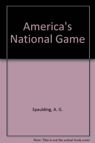 9780941567190: America's National Game