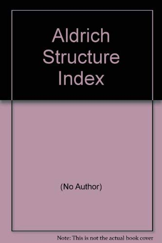 Aldrich Structure Index 1992-1993