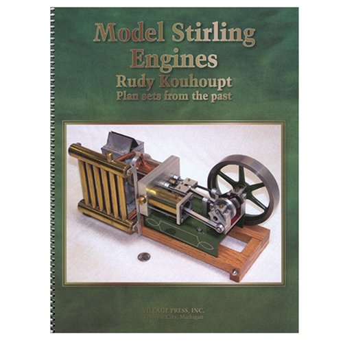 9780941653268: Model Stirling Engines (Plan Sets From the Past)