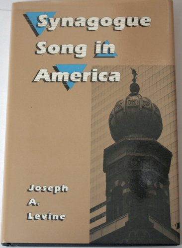 9780941677127: Synagogue Song in America (Performance in World Music Series)