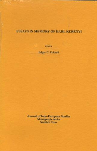 Essays in Memory of Karl Kerenyi: Polome, Edgar C.