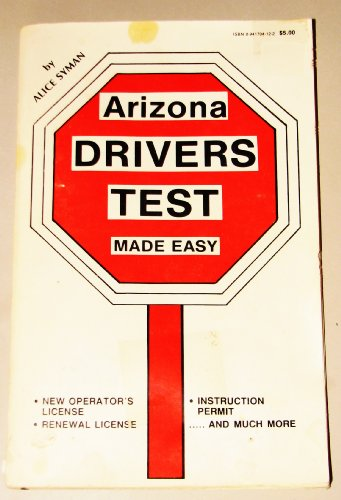 9780941704120: Arizona Drivers Test Made Easy