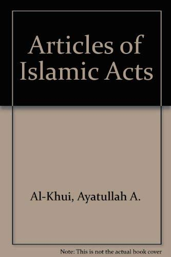 9780941724210: Articles of Islamic Acts
