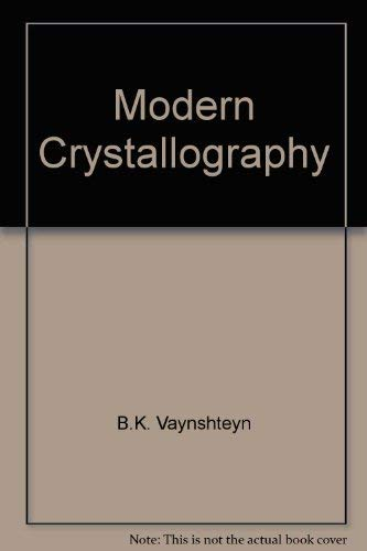 9780941743372: Modern Crystallography (English and Russian Edition)