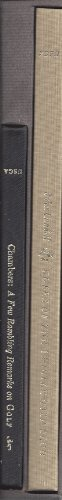Rules of The Thistle Golf Club / A Few Rambling Remarks on Golf [Complete in 2 Volumes, Slipcased...