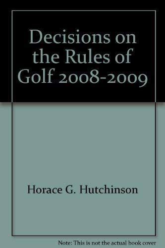 Fifty Years of Golf: Hutchinson, Horace G.