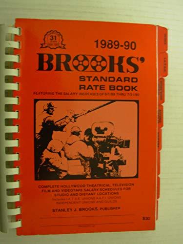 9780941806053: Brooks Standard Rate Book 1989-90