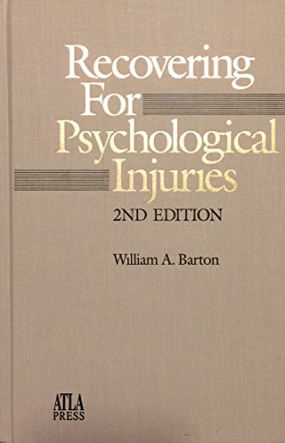 9780941916516: Recovering for Psychological Injuries