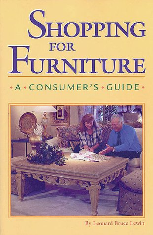 9780941936392: Shopping for Furniture: A Consumers Guide